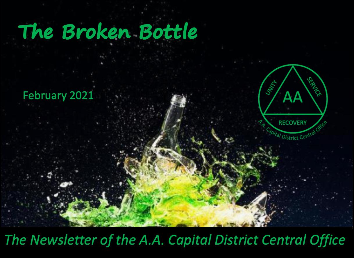 Broken Bottle Cover Feb 2021