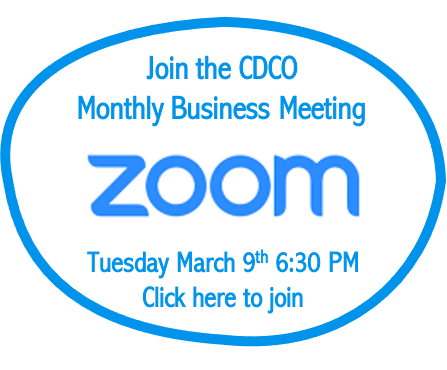 Zoom CDCO March 9th